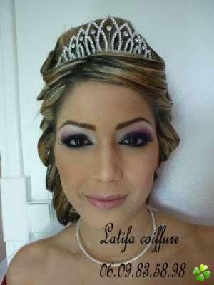 Chignon mariage libanais 2014