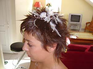 Chignon Mariage Cheveux Court Mon Chignon Fr