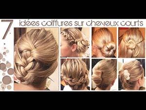 Chignons Cheveux Mi Long Mon Chignon Fr