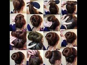 tutoriel coiffure chignon
